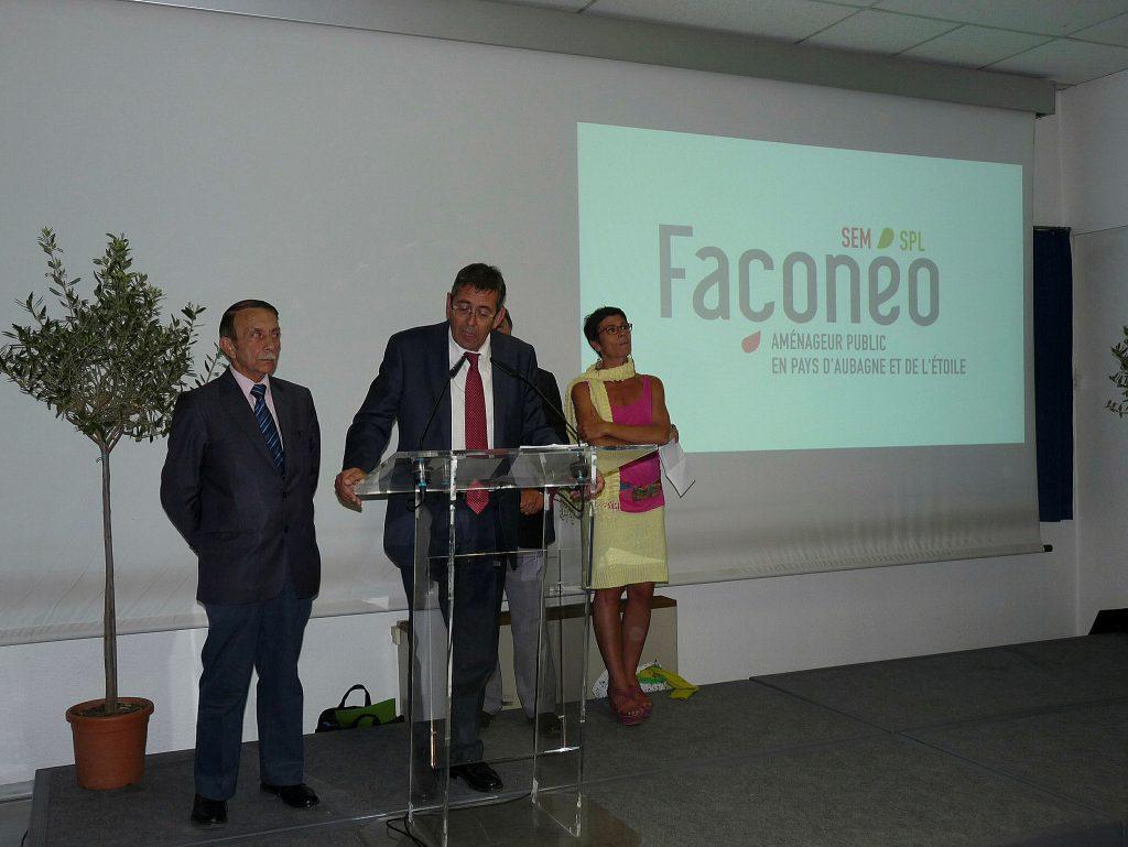 CRÉATION DE LA SPL FAÇONÉO