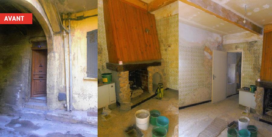 Rénovation Urbaine - 1 place Amont Auriol