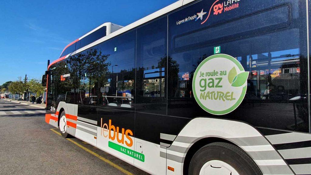 Bus Gaz Naturel pour Véhicule